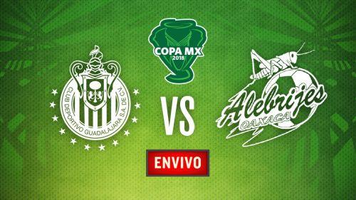 Chivas derrota a Alebrijes en Copa MX