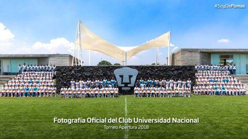 Los Pumas se toman la foto oficial del Apertura 2018