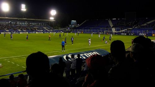 El Estadio Miguel Alemán previo a un partido
