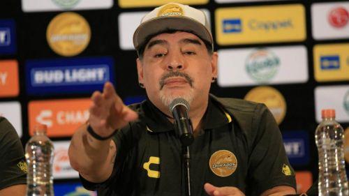 Maradona revela que llegó a Dorados por recomendación de Antonio Mohamed