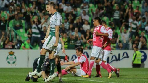 Furch lanza un grito en el Santos vs León del Clausura 2018