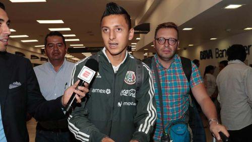 Piojo Alvarado llegando a la Ciudad de México