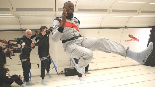 Alucina último truco publicitario de Usain Bolt
