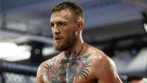 McGregor tras una pelea de la UFC