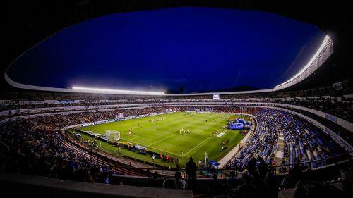 El Estadio de La Corregidora previo a un partido