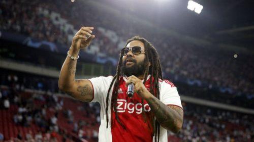 Ky-Mani Marley cantando en la Johan Cruyff Arena