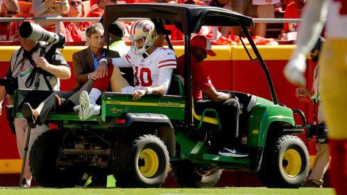 Jimmy Garoppolo se pierde el resto de la temporada de la NFL