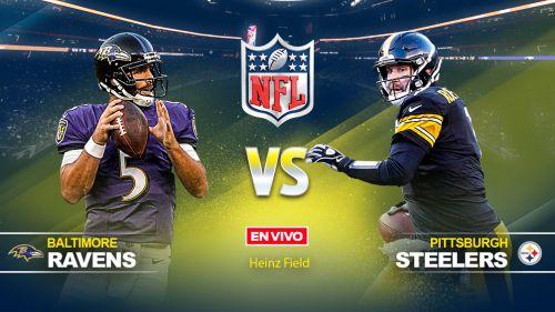 Ravens doblegan a Steelers, que se hunden en la division