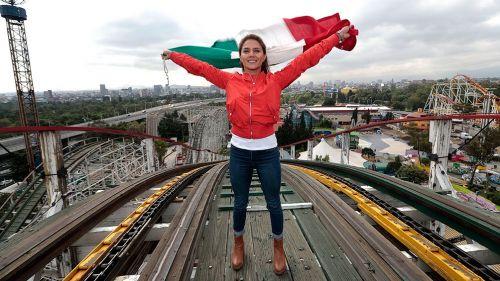 Adriana Jiménez en la Feria de Chapultepec