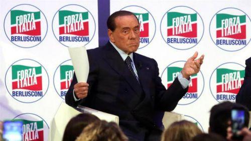 Silvio Berlusconi durante un evento