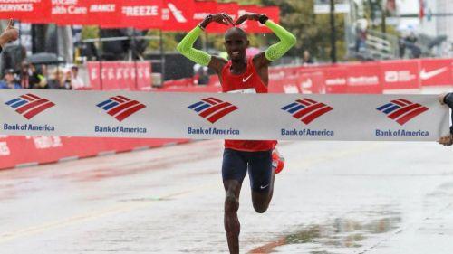 Mo Farah en el Maratón de Chicago