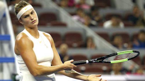 #Video Tenista hace grosería a recogepelotas en China