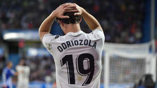 Odriozola se lamenta tras la derrota frente al Alavés