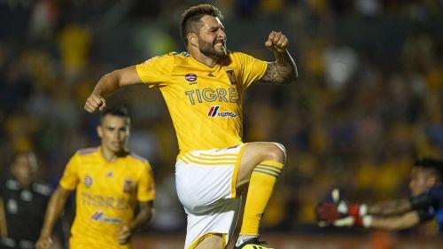 Gignac celebra gol con Tigres