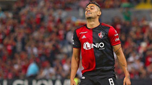 Andrés Andrade se lamenta en juego del Atlas