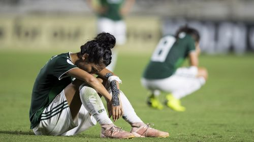 Jugadoras del Tri Femenil lucen decepción tras caer contra Panamá