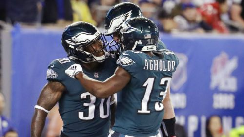 Eagles someten a Giants