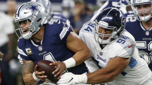 Titanes derrotan 28-14 a Cowboys