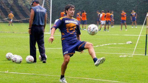 Rubens, durante su paso por Pumas en 2007
