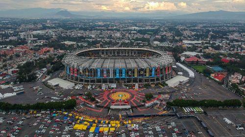 El Estadio Azteca previo al América vs Toluca
