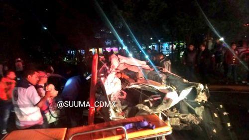 Accidente en la México-Toluca deja al menos 7 muertos