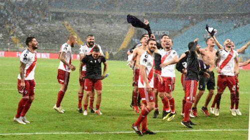 River Plate festeja pase a la Final de la Libertadores