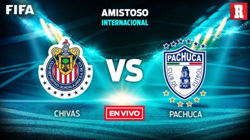 EN VIVO y EN DIRECTO: Chivas vs Pachuca
