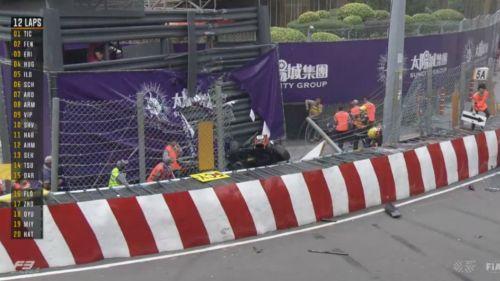 Sophia Flörsch sufre accidente en GP Macao