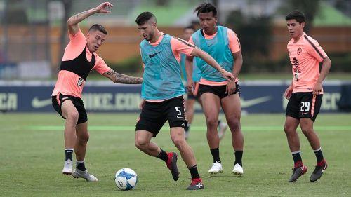 Guido Rodríguez es duda para la ida ante Pumas