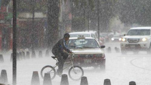 Intensas lluvias se registran en varias alcaldías de la CDMX