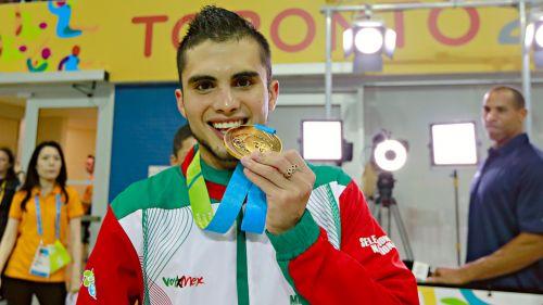 Iván García celebra un triunfo en Juegos Panamericanos