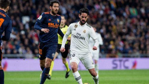 Isco, durante partido frente al Valencia en La Liga