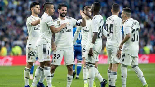 Real Madrid festeja tanto de Isco en el Bernabéu