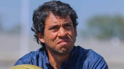 Otto Becerril en una conferencia de Pumas CU