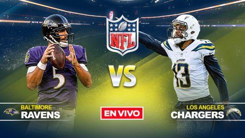 Ravens Vs Chargers Nfl En Vivo Y En Directo Semana 16 Record