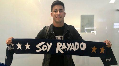 Maxi Meza arriba a Monterrey para unirse a Rayados
