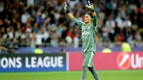 ¿Keylor ya se despidió del Madrid?