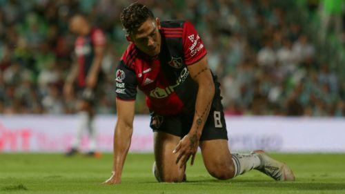 Andrés Andrade, fuera tres meses con Atlas por lesión