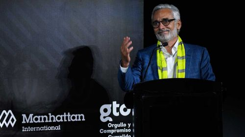 Jesús Martínez en un evento