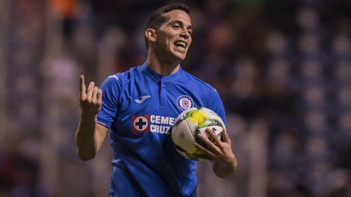 Iván Marcone, durante un juego del Cruz Azul