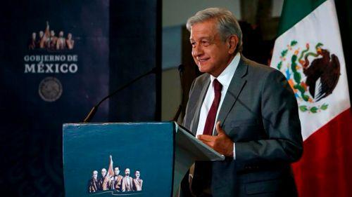 Lopez Obrador, durante una conferencia de prensa