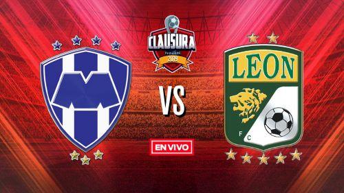 EN VIVO Y EN DIRECTO: Monterrey vs León