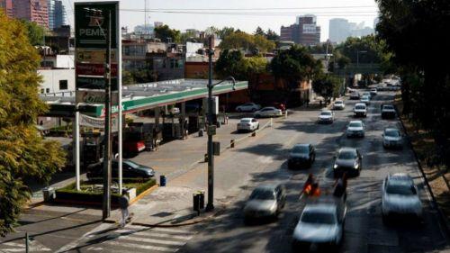 Vista de gasolinería ante el desabasto