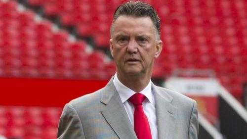 Van Gaal, durante su etapa en el Manchester United