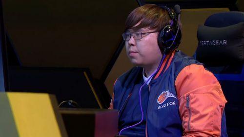 Justin Wong, durante su participación en la Capcom Cup 2018
