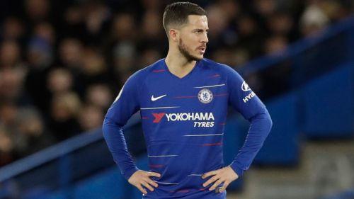 Hazard contestó al 'palito' de Sarri: 'No me importa'