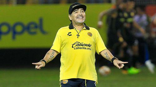 ¡Volvió el Diego! Maradona ya se sumó a Dorados