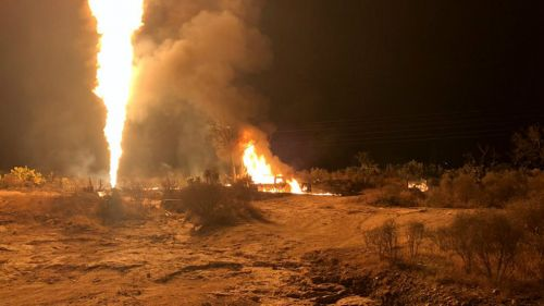 Nueva explosión en un ducto de Pemex en Hidalgo