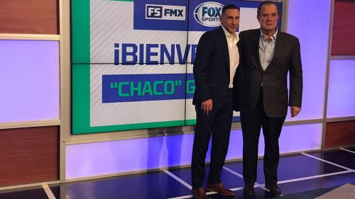 Chaco Giménez, presentado como analista de Fox Sports