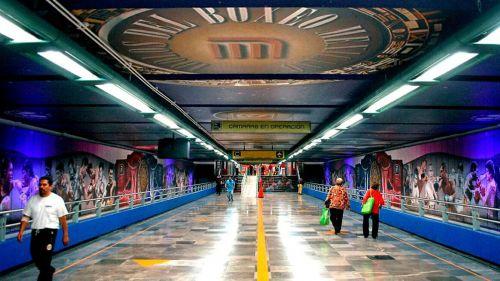 Así luce la estación Garibaldi, línea 8